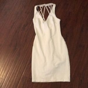 Ivory cute Bebe dress , x's